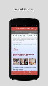 Victoria Care Services apk screenshot