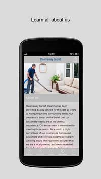 Steamaway Carpet Cleaning apk screenshot