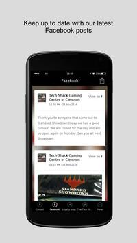 Tech Shack Gaming Center apk screenshot