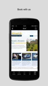 Sovereign Taxis Alnwick apk screenshot