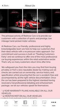 Redrose Cars apk screenshot