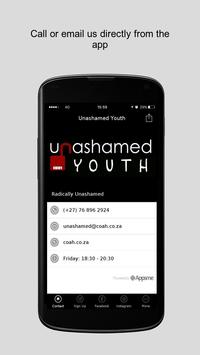Unashamed Youth poster