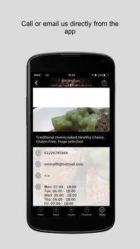 Baileys Cafe screenshot 2