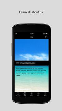 AAA-TITANIUM LIMOUSINE apk screenshot