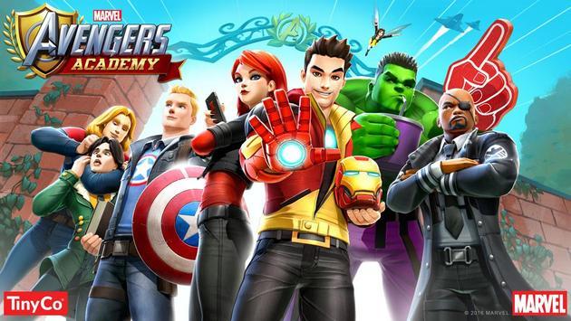 MARVEL Avengers Academy TM poster