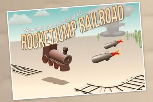Rocketjump Railroad poster