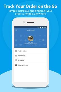 TinyDeal Online Store apk screenshot
