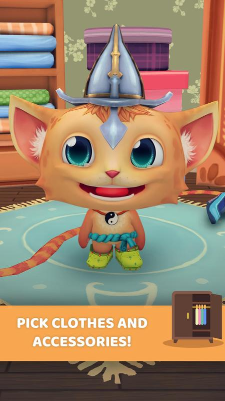 My Talking Maya Kucing Pet For Android Apk Download