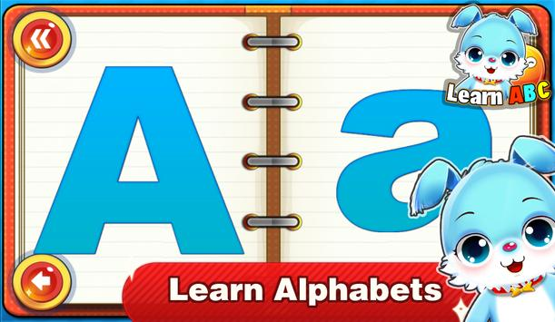 Kids ABC Letters Tiny apk screenshot