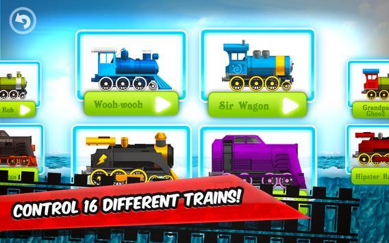 Fun Kids Train Racing Games poster