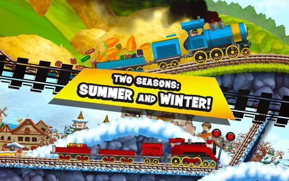 Fun Kids Train Racing Games apk screenshot