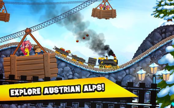 Fun Kids Train Racing Games screenshot 1