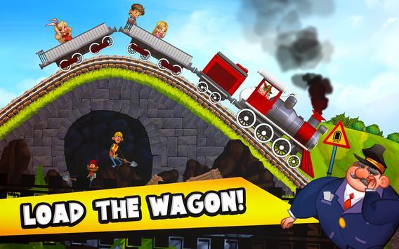 Fun Kids Train Racing Games screenshot 3