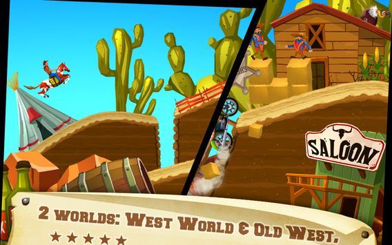 Wild West Race apk screenshot