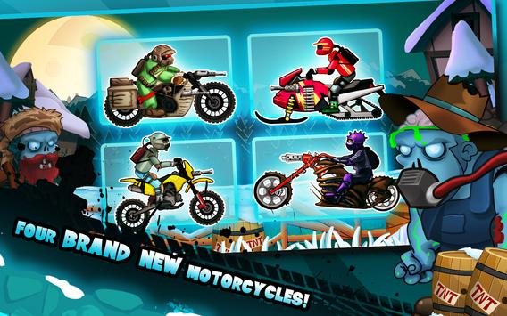 Zombie Shooter Motorcycle Race poster