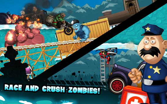 Zombie Shooter Motorcycle Race screenshot 11