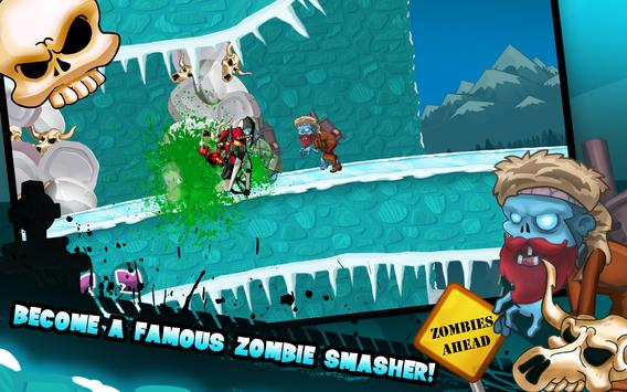 Zombie Shooter Motorcycle Race screenshot 17