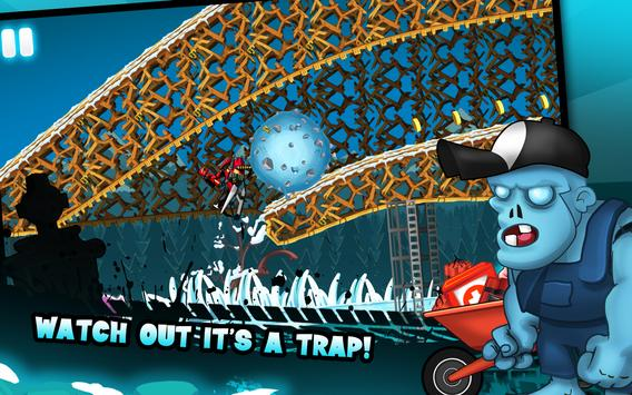 Zombie Shooter Motorcycle Race screenshot 22