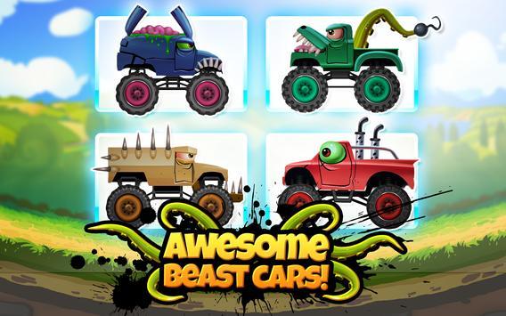 Monster Truck Kids 5: Crazy Cartoon Race poster