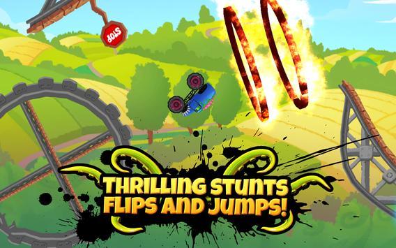 Monster Truck Kids 5: Crazy Cartoon Race apk screenshot