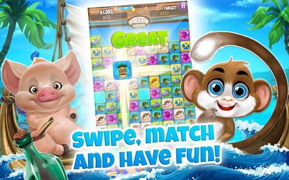 Pet Match 3: Animal Blast Game скриншот 17