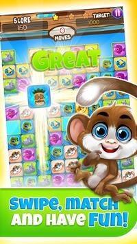 Pet Match 3: Animal Blast Game скриншот 1