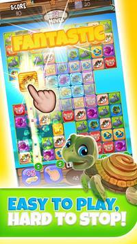 Pet Match 3: Animal Blast Game скриншот 2