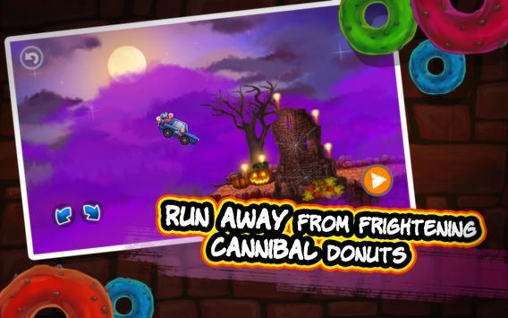 Halloween Cars: Monster Race screenshot 10