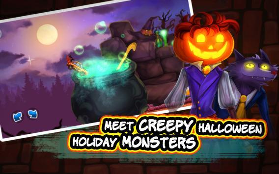 Halloween Cars: Monster Race screenshot 11