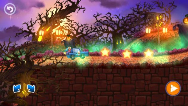 Halloween Cars: Monster Race screenshot 13