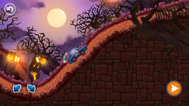 Halloween Cars: Monster Race screenshot 15