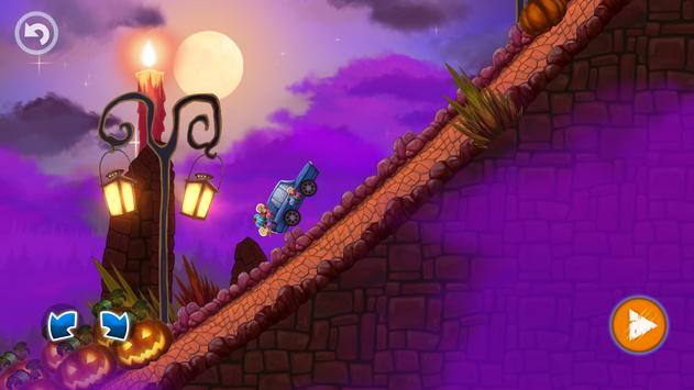 Halloween Cars: Monster Race screenshot 6