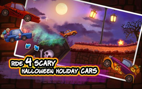 Halloween Cars: Monster Race apk screenshot