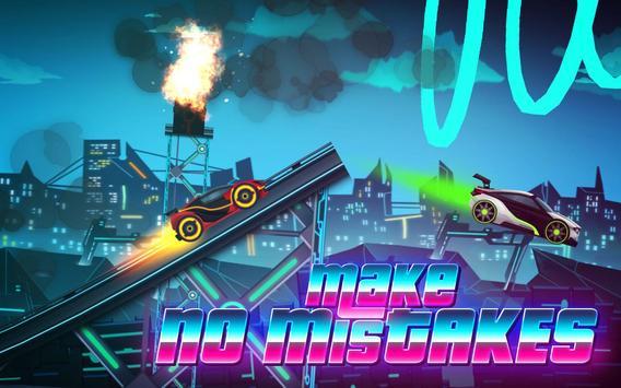Car Games: Neon Rider Drives Sport Cars captura de pantalla 5