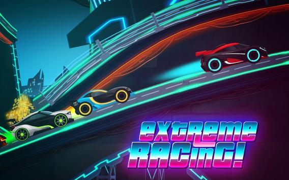 Car Games: Neon Rider Drives Sport Cars captura de pantalla 12