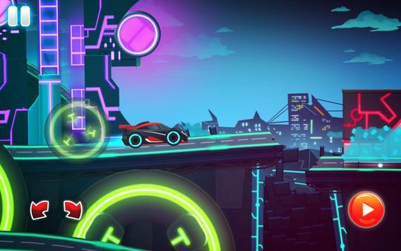 Car Games: Neon Rider Drives Sport Cars captura de pantalla 14