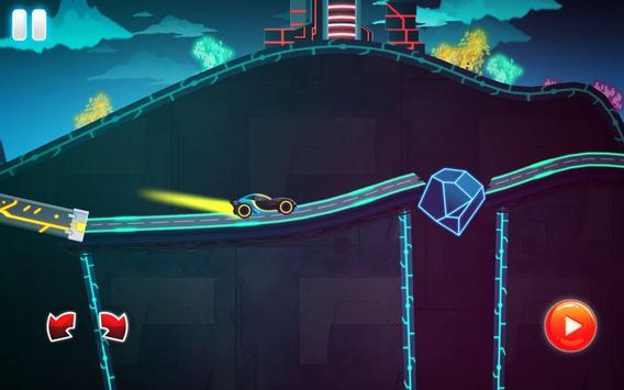 Car Games: Neon Rider Drives Sport Cars captura de pantalla 15