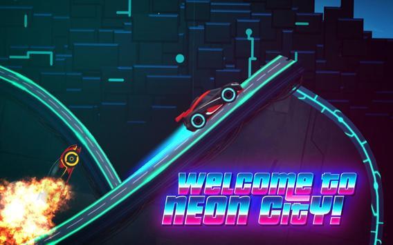 Car Games: Neon Rider Drives Sport Cars captura de pantalla 1