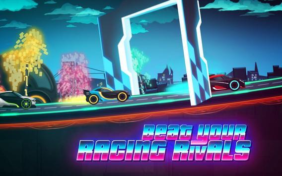 Car Games: Neon Rider Drives Sport Cars captura de pantalla 2