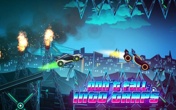 Car Games: Neon Rider Drives Sport Cars captura de pantalla 3