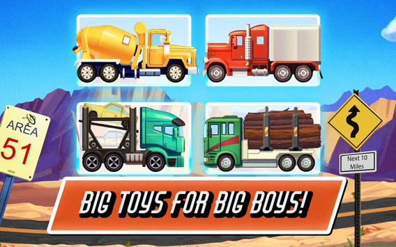 Truck Driving Race US Route 66 poster