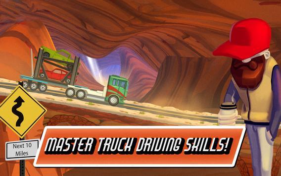 Truck Driving Race: US Route 66 apk screenshot