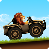 Fun Kid Racing - Safari Cars أيقونة