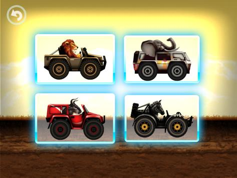 Fun Kid Racing - Safari Cars screenshot 14