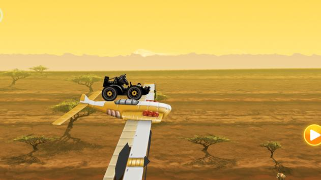 Fun Kid Racing - Safari Cars screenshot 11