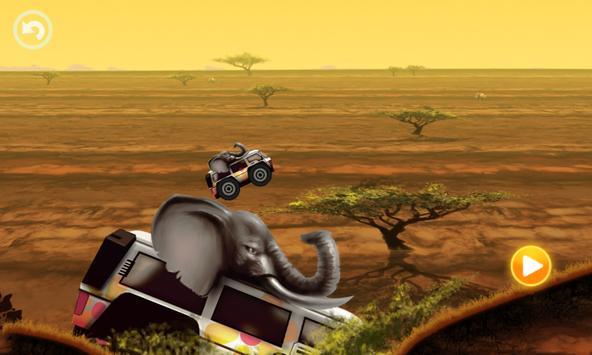 Fun Kid Racing - Safari Cars screenshot 3