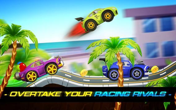 Sports Cars Racing: Chasing Cars on Miami Beach 截圖 3