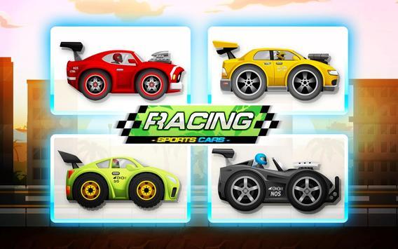 Sports Cars Racing: Chasing Cars on Miami Beach 海報