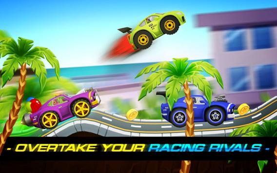 Sports Cars Racing: Chasing Cars on Miami Beach 截圖 11
