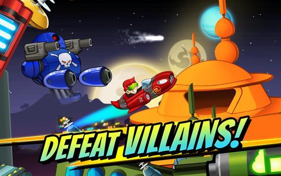 Superheroes Car Racing apk screenshot